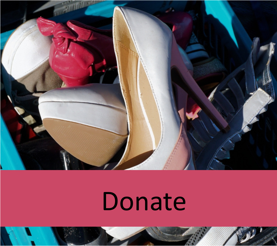 Donate Used Clothing, Shoes, Handbags and Home Items