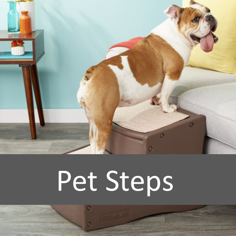 How Pet Stairs and Steps May Help Your Pet Onto Furniture
