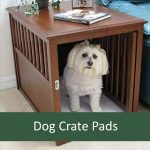 Best Chew Resistant No Flat Waterproof Crate Pad for Dogs