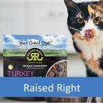 Raised Right Pets - Dog Food, Treats, Cat Food